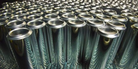 canette dissolution aluminium