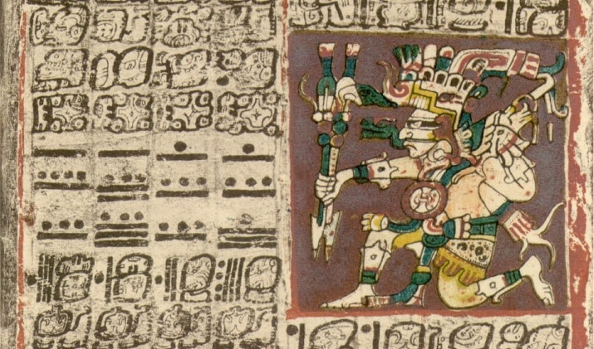 codex dresde venus