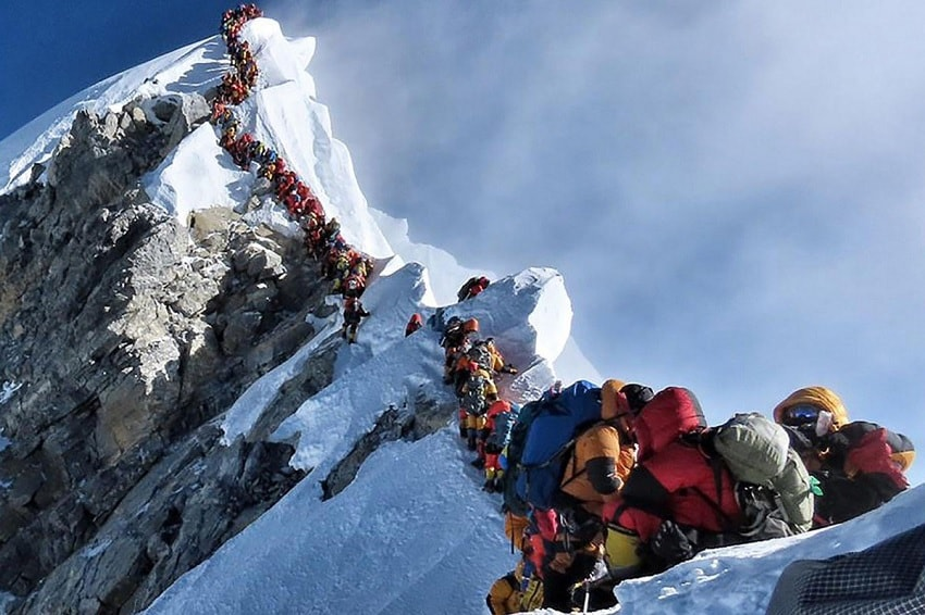 file sommet everest