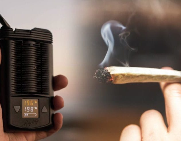 fumer vs vaporiser cannabis
