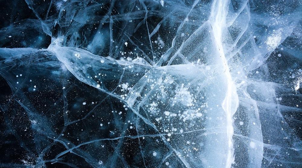glace eau superionique