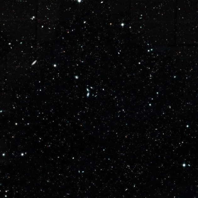 hubble legacy field univers