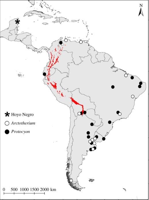 localisation grotte mexique