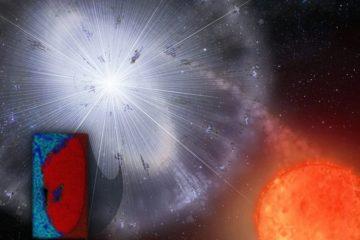 meteorite poussiere etoile