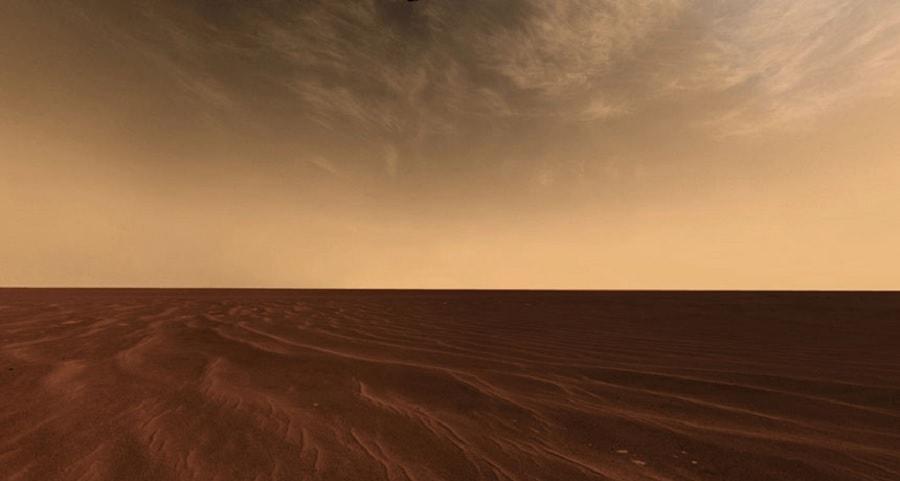 nuages mars curiosity