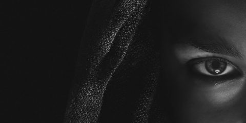 oeil couleur obscurite