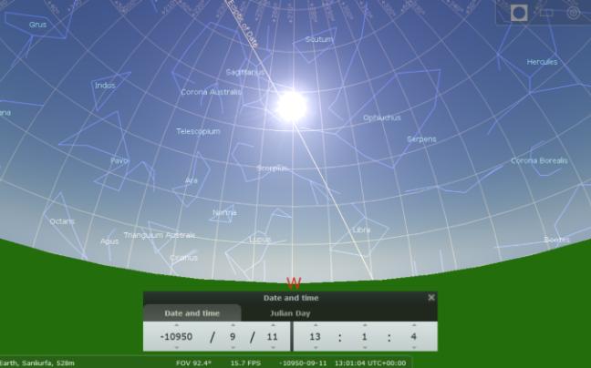 simulation informatique systeme solaire
