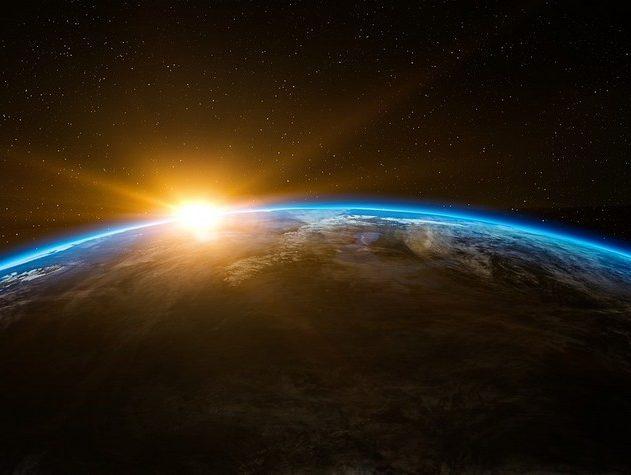soleil terre espace