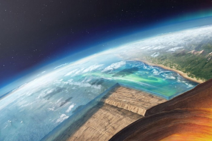 plaque terrestre
