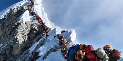 embouteillages mont everest