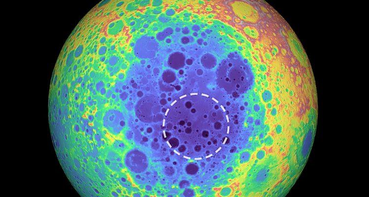 Une masse géante a été détectée sous la surface de la Lune