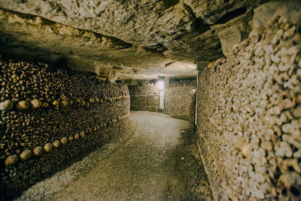 catacombes galeries paris