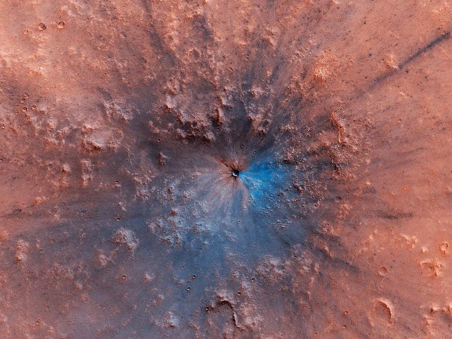 cratere mars mro