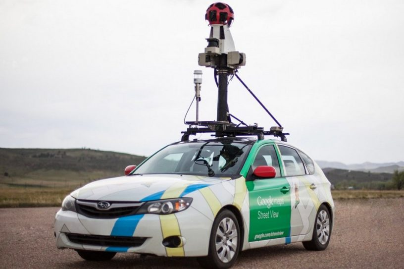 google street view methane