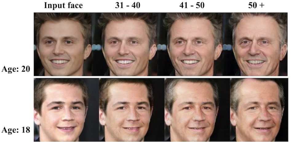 ia prediction vieillissement visage demo