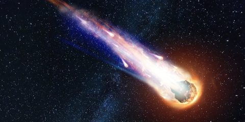 impact meteorite ecosse
