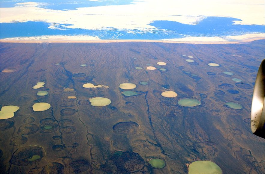 permafrost degel 70 ans plus tot hudson bay canada
