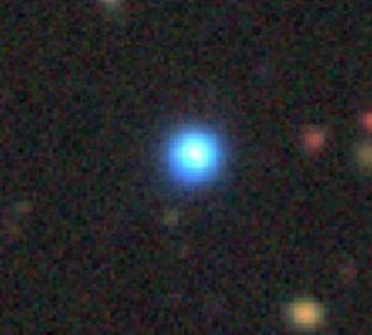quasar bleu