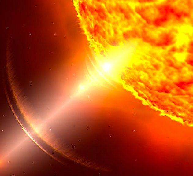 soleil mystere temperature atmosphere