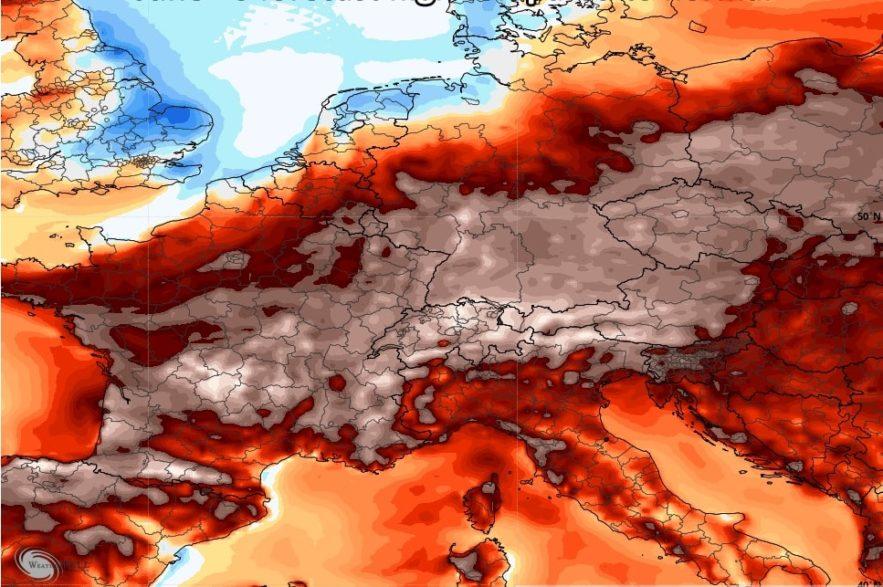 vague chaleur extreme europe