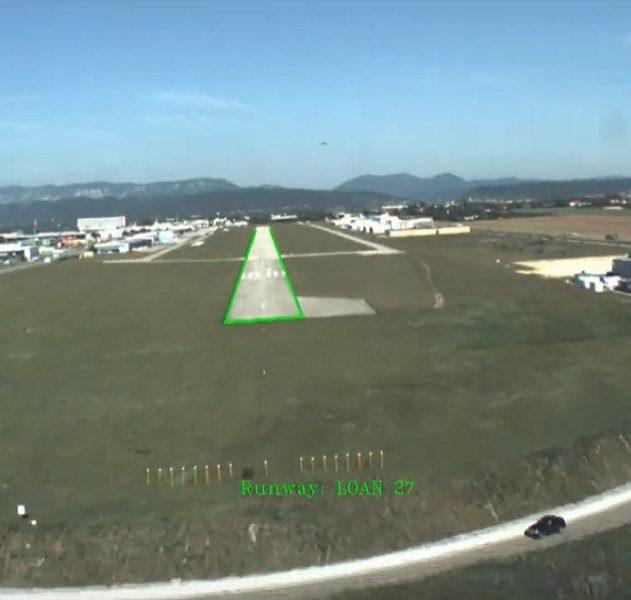 avion atterrissage automatique