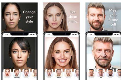 faceapp donnees personnelles