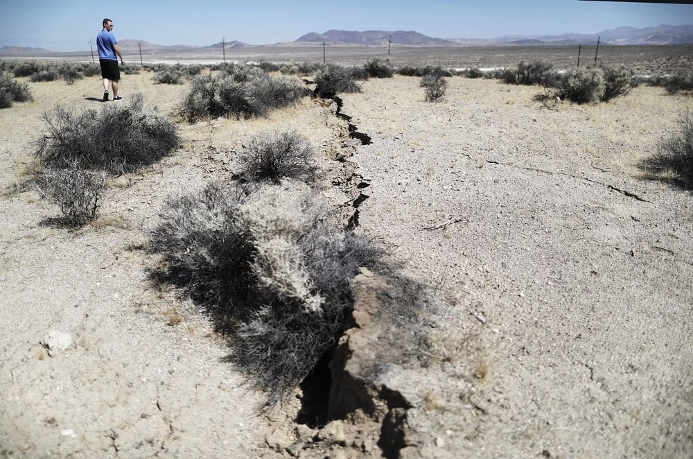 failles seismes californie