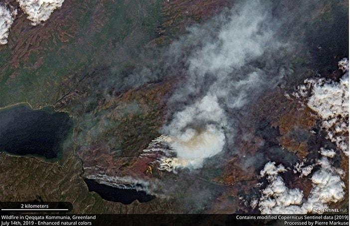 incendie groenland