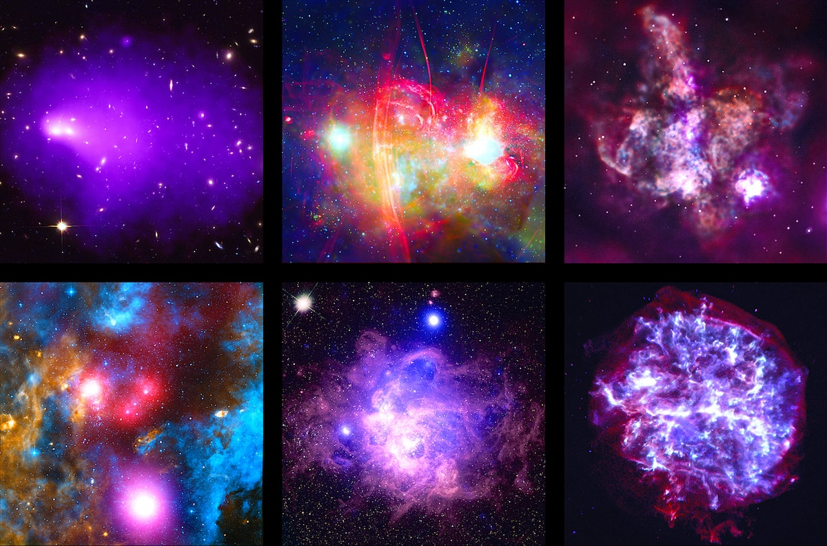 selection images chandra x-ray