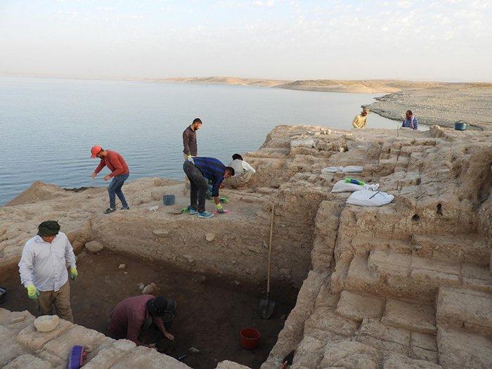 excavation salle