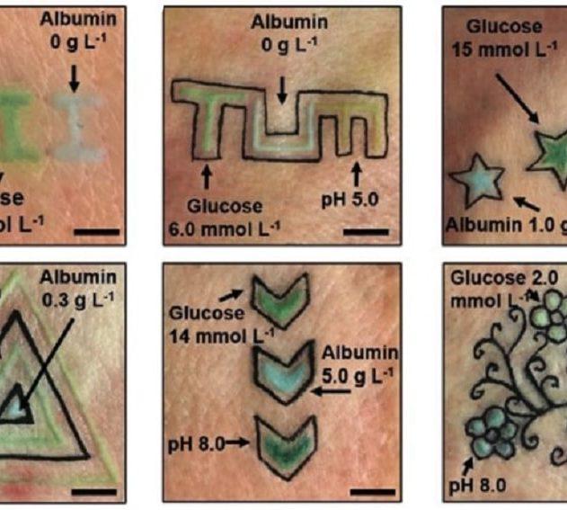 tatouages biomarqueurs