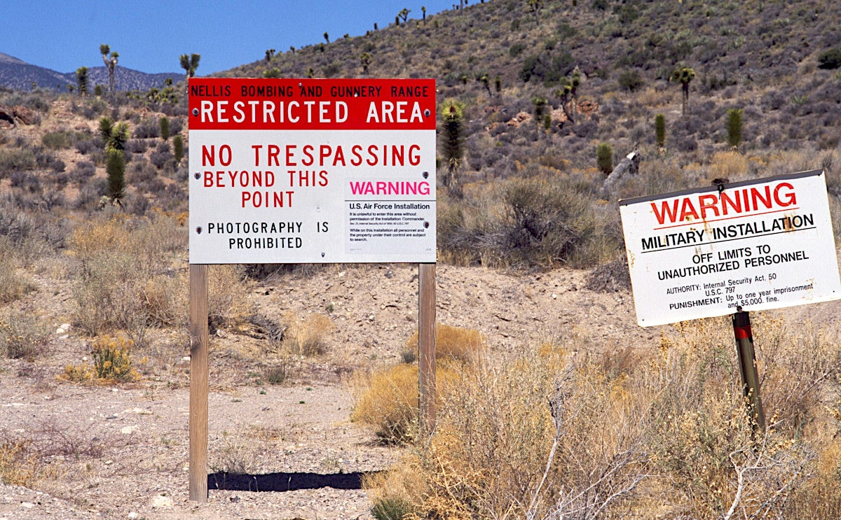 zone 51 assaut canular avertissement gouvernement