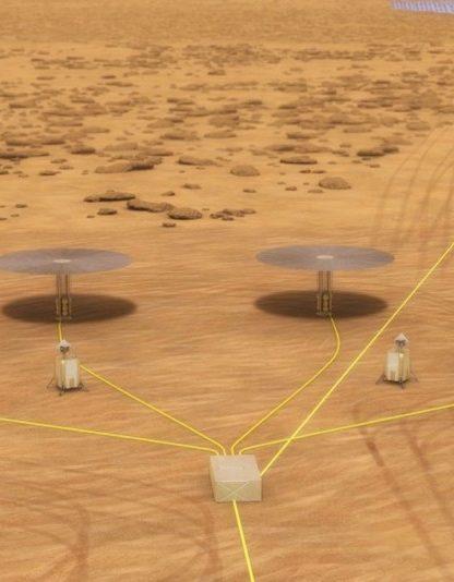 alimentation fission nucleaire reacteur surface mars