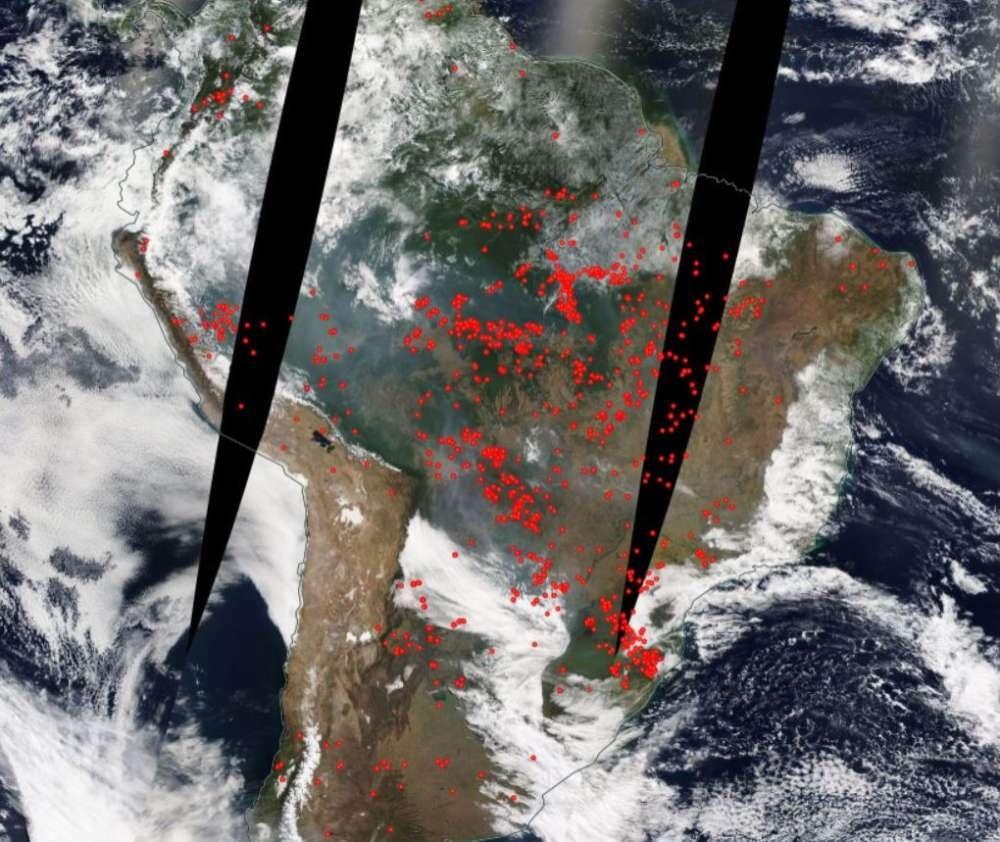 carte incendies anomalies
