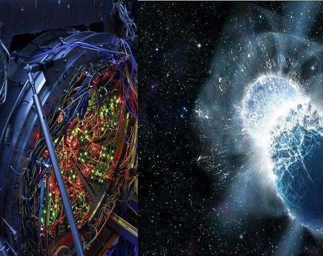 collision accalerateur particules