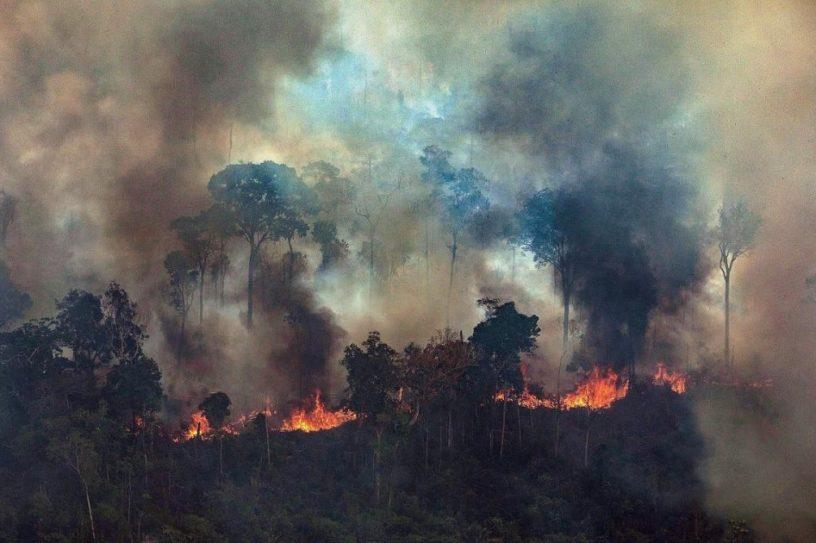 incendies bolivie