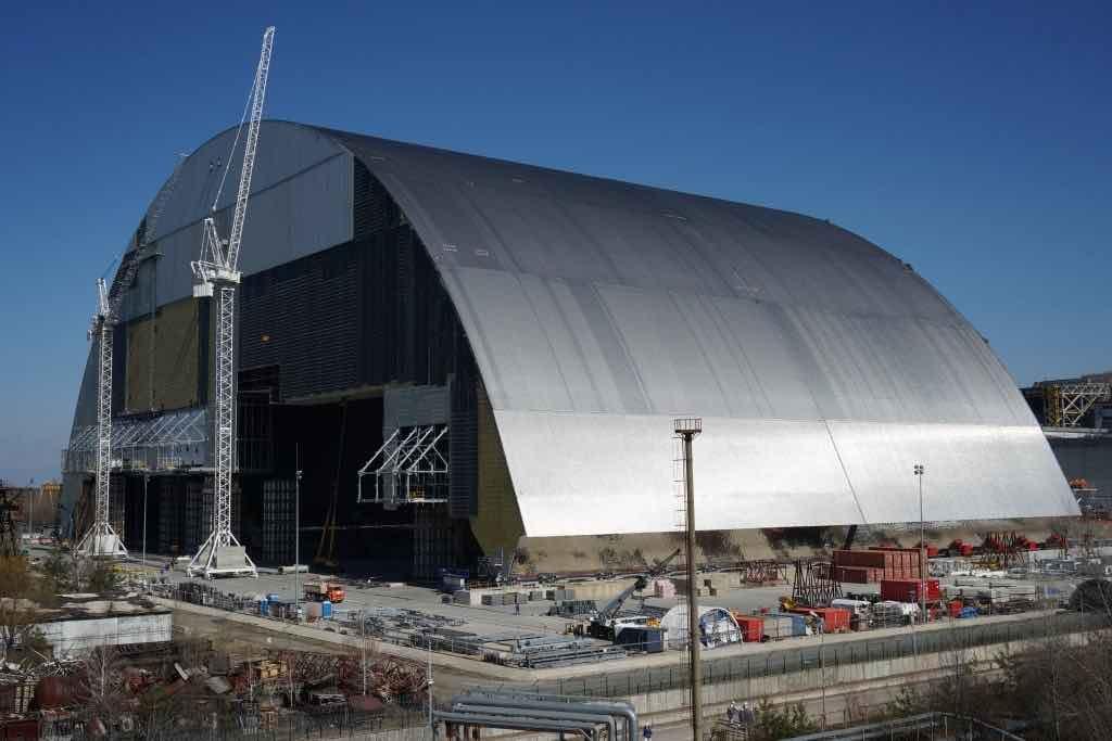 nouvelle structure confinement tchernobyl