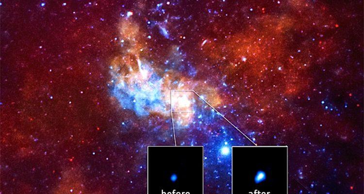 sagittarius a pic luminosite chandra