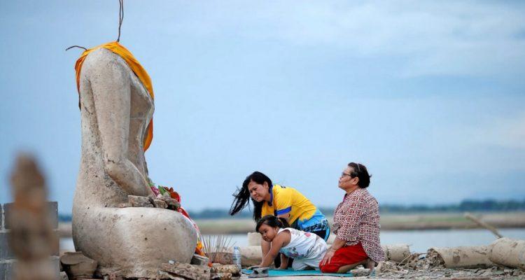 temple secheresse bouddha