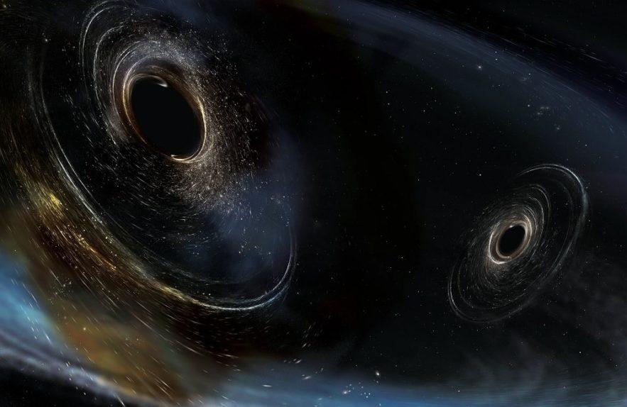 trous noirs galaxie