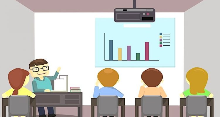 video projecteurs salles de classe