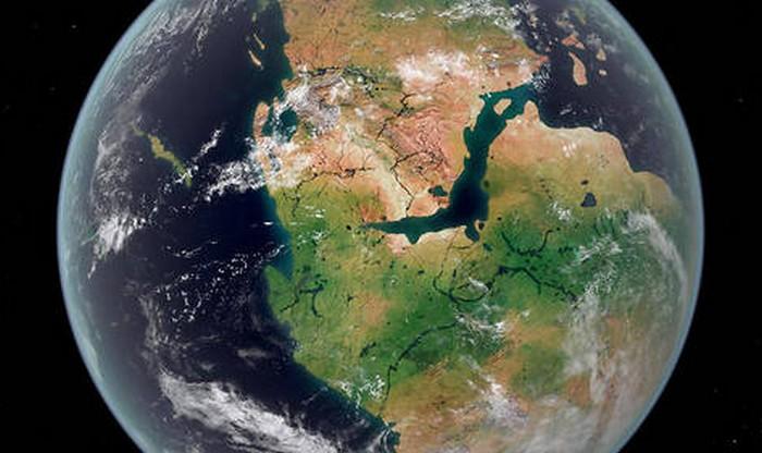Un huitième continent nommé « Grand Adria » se cache à environ 1000 kilomètres sous l'Europe ! By Stéphanie Schmidt Continent-europe-ancien