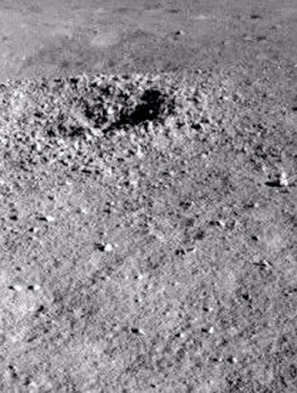 cratere lune decouverte substance gelatineuse