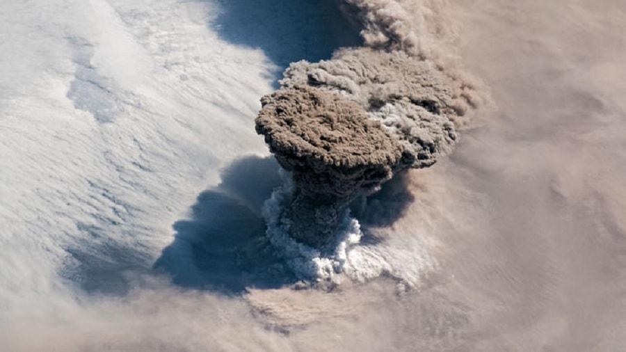 eruption raikoke
