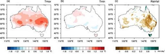australie réchauffement climat climatique
