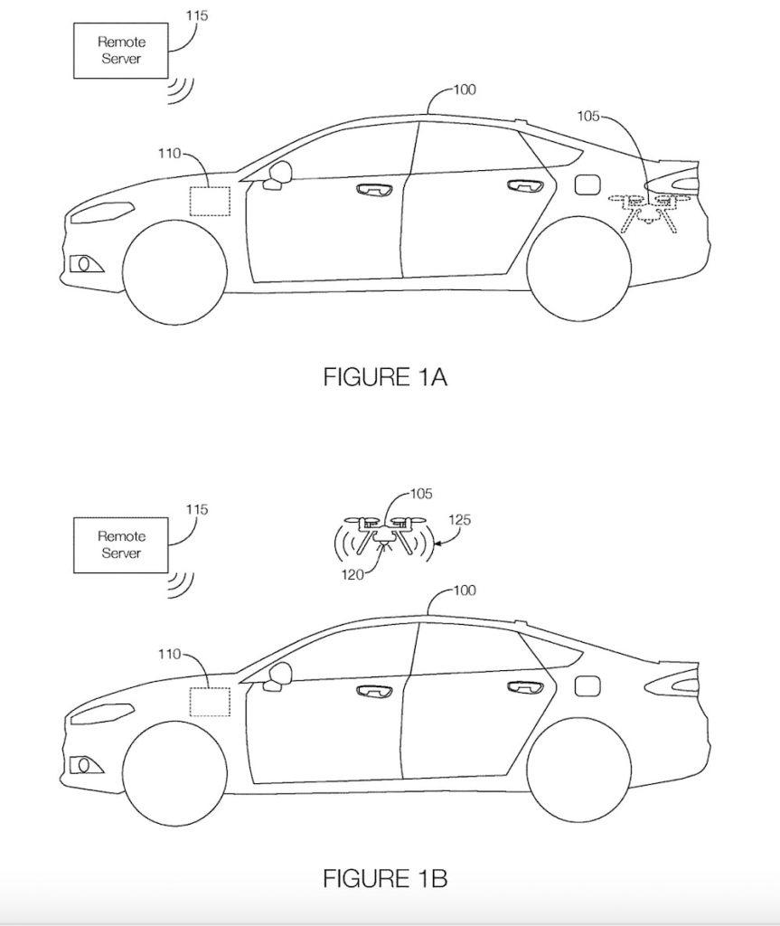 dessins brevet drone ford