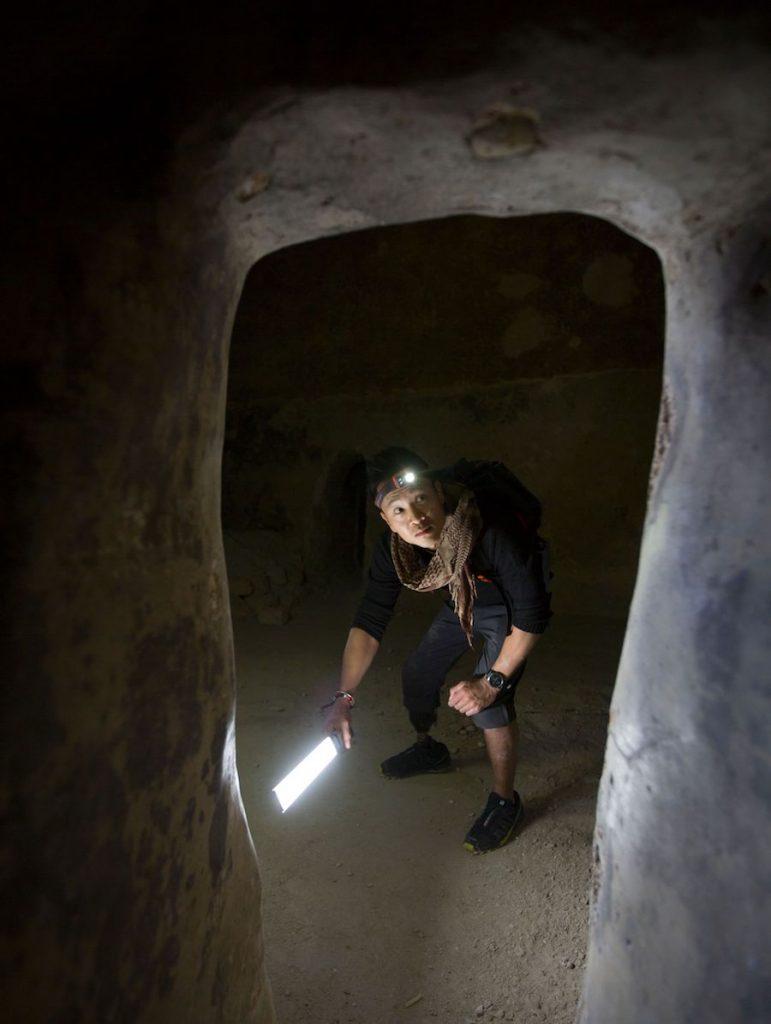 dr lin decouerte tunnels templiers acre