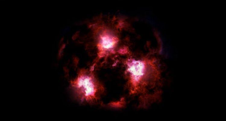 galaxie monstre galactique univers primitif formation etoiles