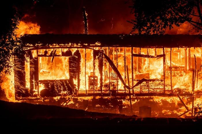 incendie feu californie kincade fire