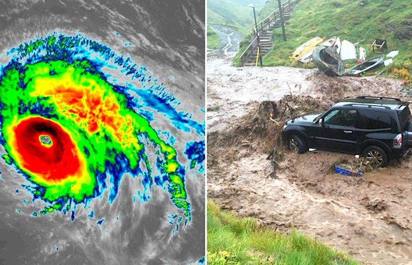 ouragan lorenzo progression